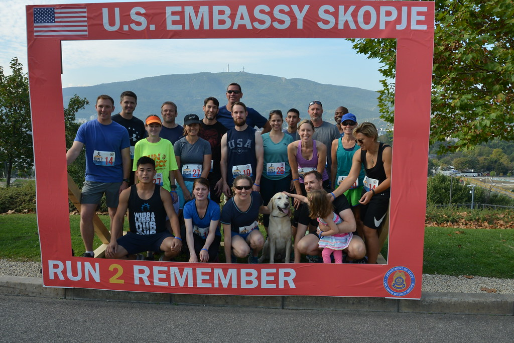 Highlights from Run to Remember 2018 in Skopje, Macedonia.