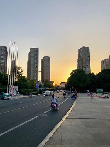 dusk changzhou china