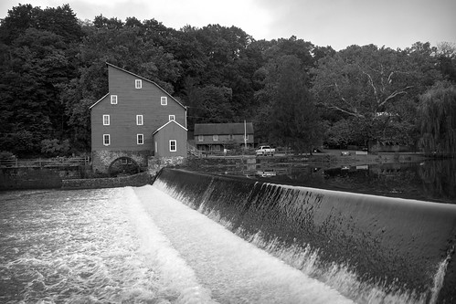 red mill clinton new jersey river water dam blackandwhite monochrome alex alexander day