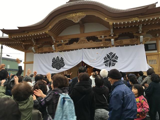 Ryusen Temple (龍仙寺) Opening, or, Beware of Flying Mochi
