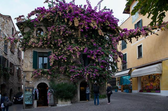 Angoli di Sirmione: la casa fiorita