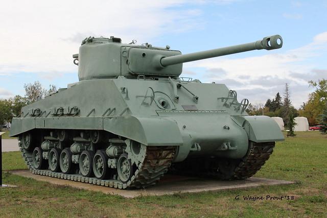 1945 Sherman M4A2(76)W HVSS Medium Tank