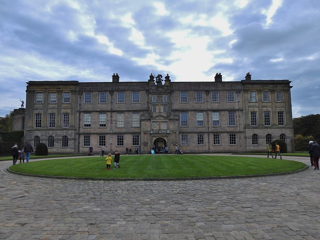 Lyme Hall in Cheshire, England - October 2018