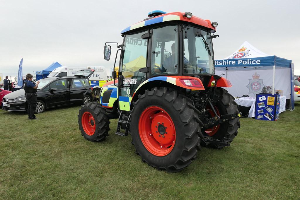 Dorset Police Kioti Tractor | Dorset Police Kioti Tractor Wi