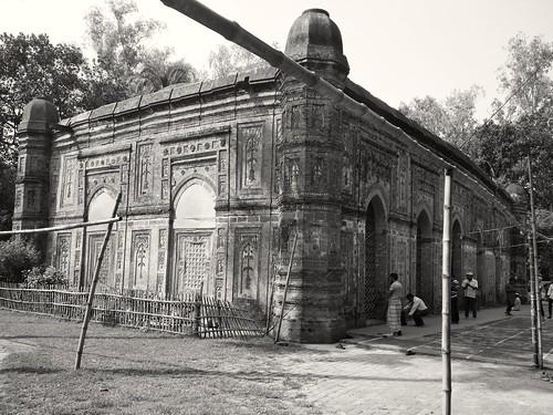 bagha rajshah bangladesh arif xiaomi 4x mosque heritage terakota natore old building