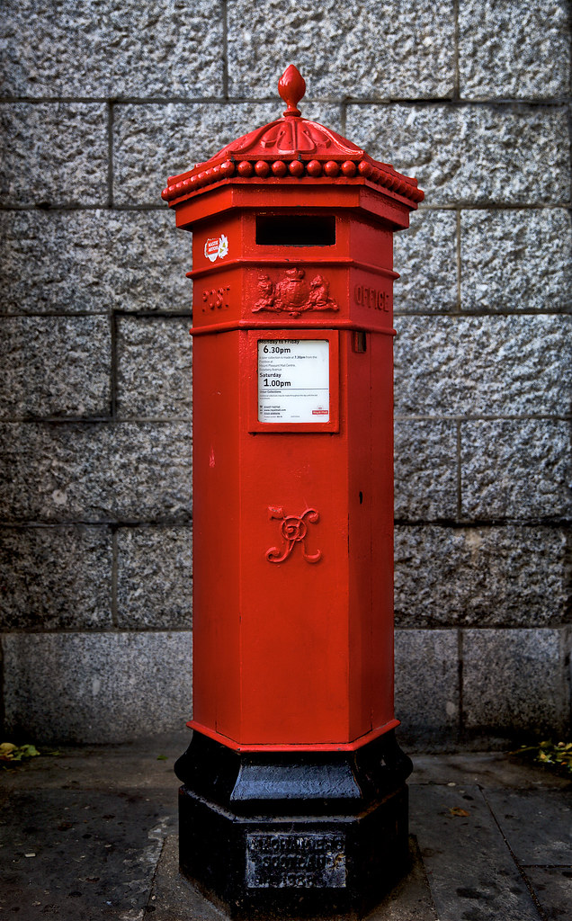 Royal Mail Letter Box.Penfold Royal Mail Pillar Box The Penfold Is Easily Recogn