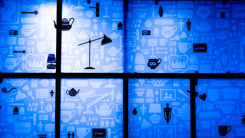 A Welsh Welcome To Shoppers ... In Blue | by Stuart Herbert