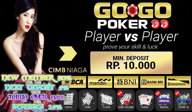 Agen Poker Online Indonesia Deposit 10rb Gogopoker99 Flickr