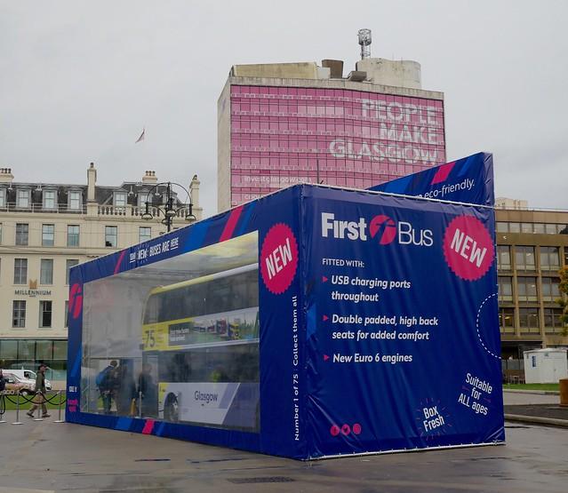 Bus in a Box! First Glasgow 33201