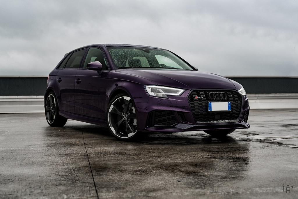 Audi RS3 400 Merlin Purple | Instagram | Luca Rocchi | Flickr
