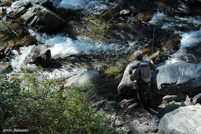 Pescando en el Genil