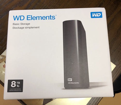 WD Elements 8TB | by Cerro Paranal