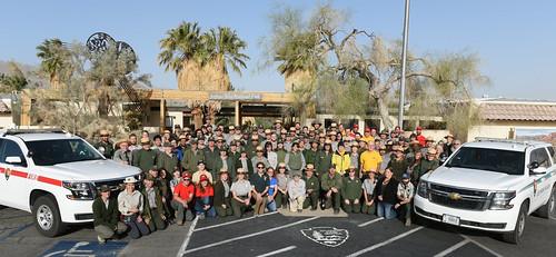 The 2018 All Employee Photo at Joshua Tree National Park Headquarters   by Joshua Tree National Park