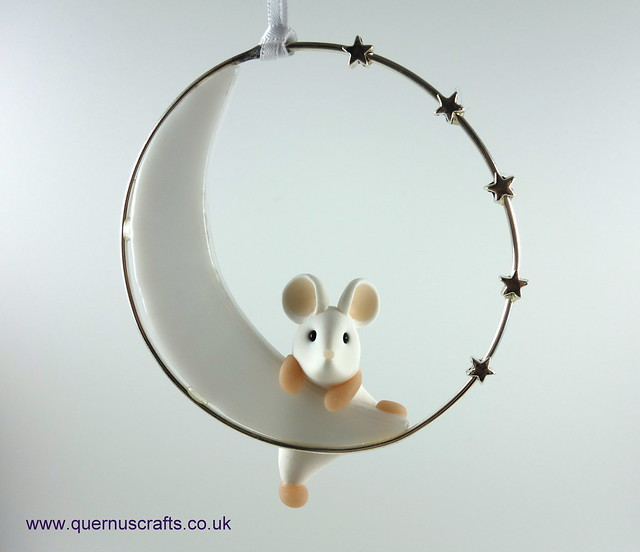 Little Mouse on Glass Moon