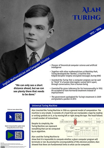 Alan Turing | by isabel.wagner