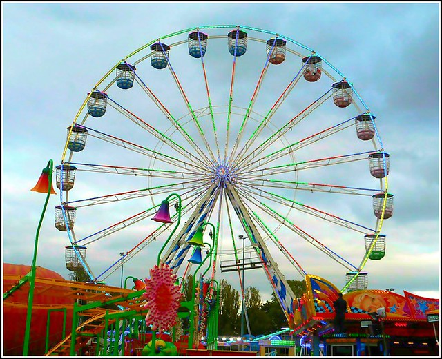 Big Wheel at Hull Fair ..