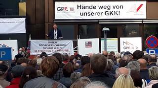 Österreichweiter Aktionstag zur SV-Reform 18.10.2018 | by GPA-djp