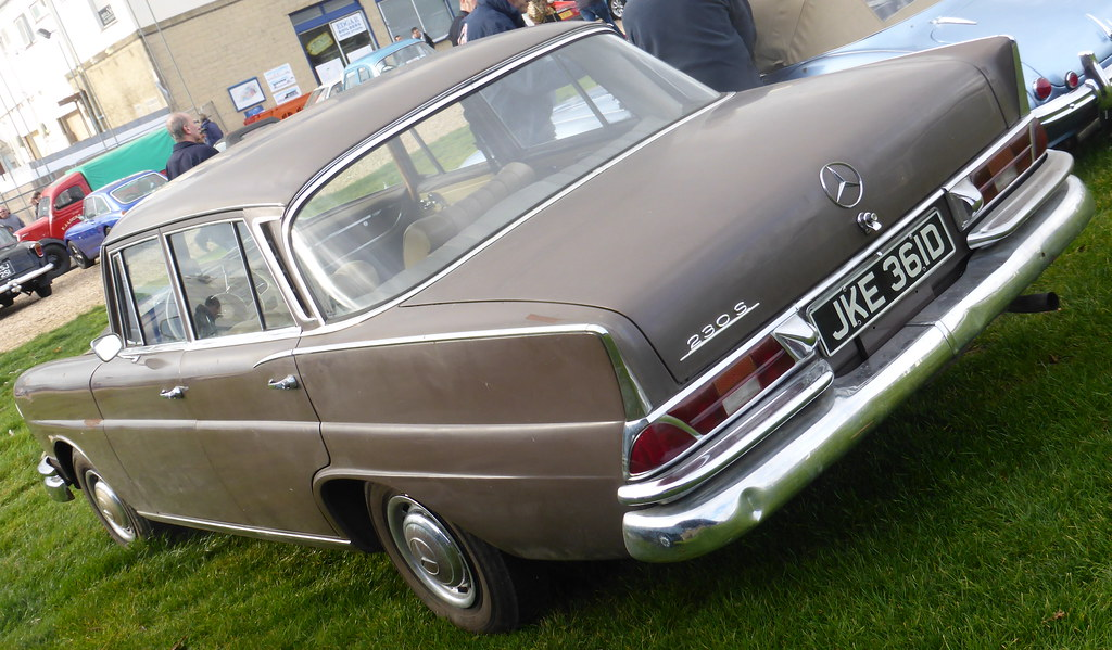 Mercedes Benz 230 S 1966 W111 En Wikipedia Org Wiki Merc Flickr