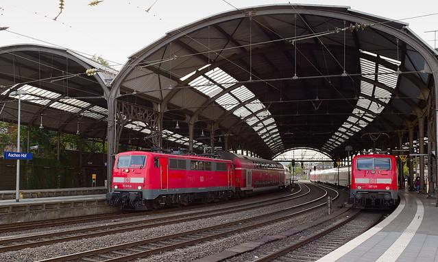 DB Regio 111 143 & 111 126 - Aachen Hbf