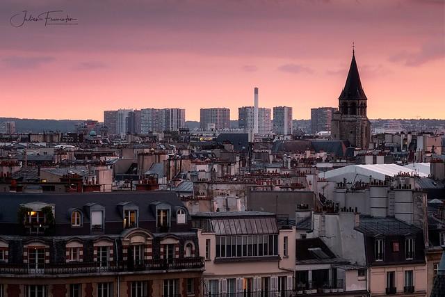 Quartier de Grenelle & Église de Saint Germain des Prés, Paris