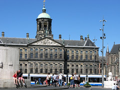 Dam Square, Royal Palace of Amsterdam