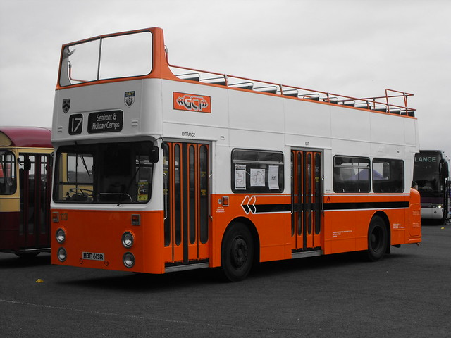 113, MBE 613R, Daimler Fleetline @ Showbus 2018 (1)