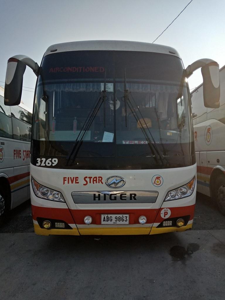 Pangasinan Five Star Bus Co Inc 3269  Route Cubao Quez  Flickr