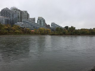 Scenes from a run. Bow River in Calgary | by scoopsy