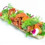 冷前菜-海膽/茄子