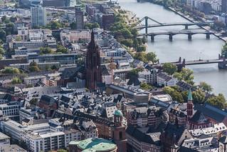 Frankfurt from Maintower