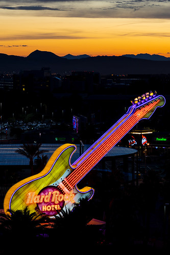 nevada lasvegas paradise hardrockhotel hardrock neon sunrise cityscape photography jamesmarvinphelps jamesmarvinphelpsphotography