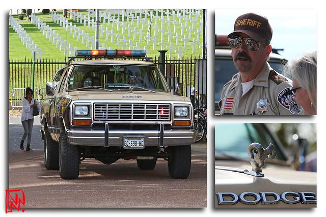 Un dodge RAM truck pour jouer au sheriff