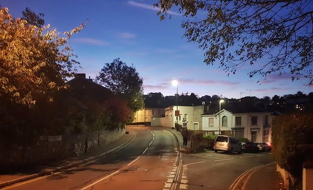 October morning. Torquay
