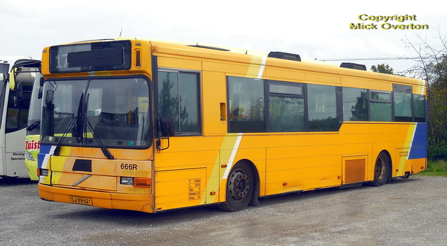 2002 Volvo B10BLE SJ89621 ex Keolis 666 escaped scrapping in 2018 when many better Keolis buses were traded in and scrapped