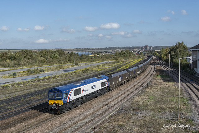 66780 , 6B72 1145 Immingham H.I.T. (Gbrf) to West Burton Ps (Gbrf) , Scunthorpe , 11-10-2018
