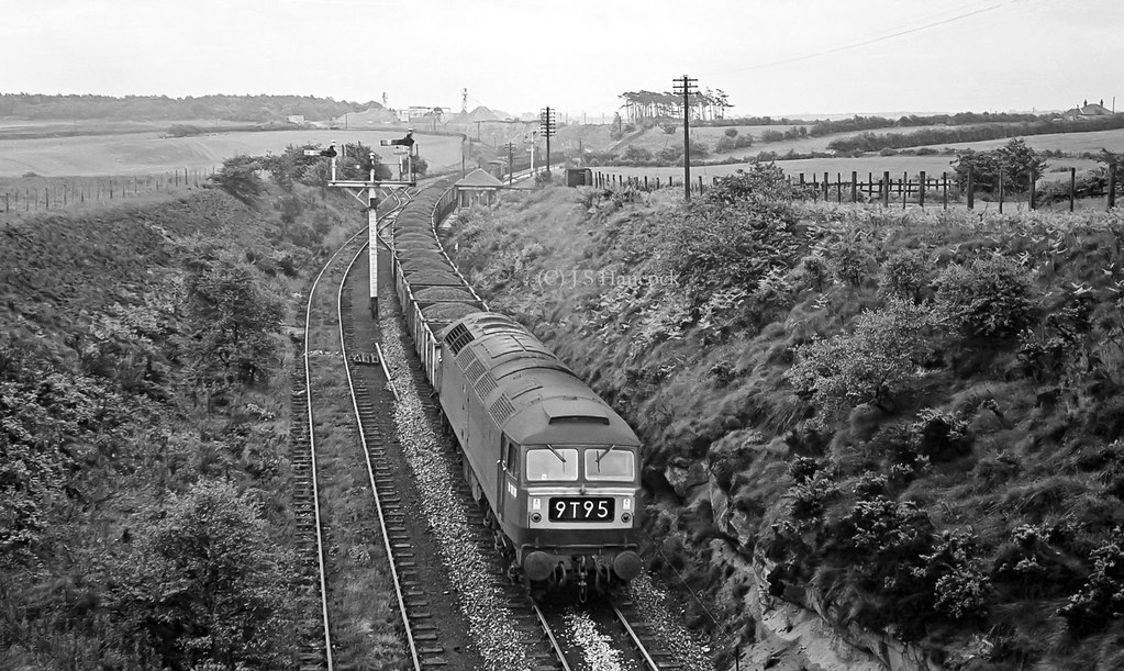 D1816. Up coal - Mansfield Colliery Jct.