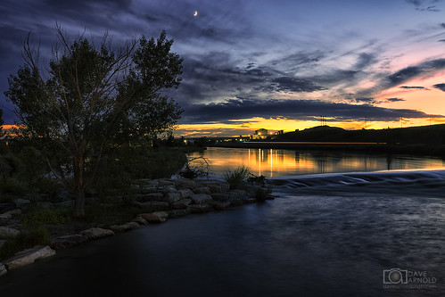 wy wyo wyoming casper northplatte river valley night sunset tree dam longexposure desert image pic us usa picture severe photo photograph photography photographer davearnold davearnoldphotocom scenic cloud rural urban summer top wet canon 5d mkiii 24105mm huge big tatepumphouse whitewaterpark amocopark park natronacounty landscape nature outdoor weather cloudy sky season rock flowingwater milkywater threecrownsgolf club kingblvd