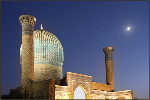 Gur Emir Mausoleum at Night | by Mabacam