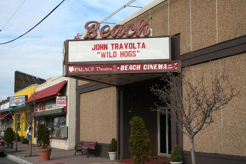 Palace Theater/ Beach Cinema, Bradley Beach, N.J.
