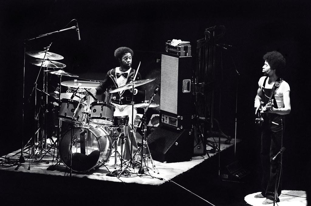 Lenny White & Stanley Clarke | Rochester, N.Y. - 1976 | Flickr