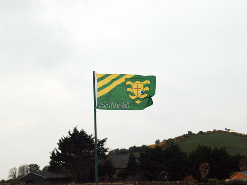 Donegal County Flag, they are the Champions