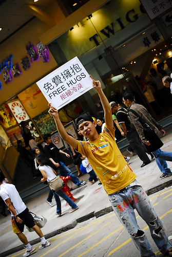 free hugs in hong kong | by mbmanson