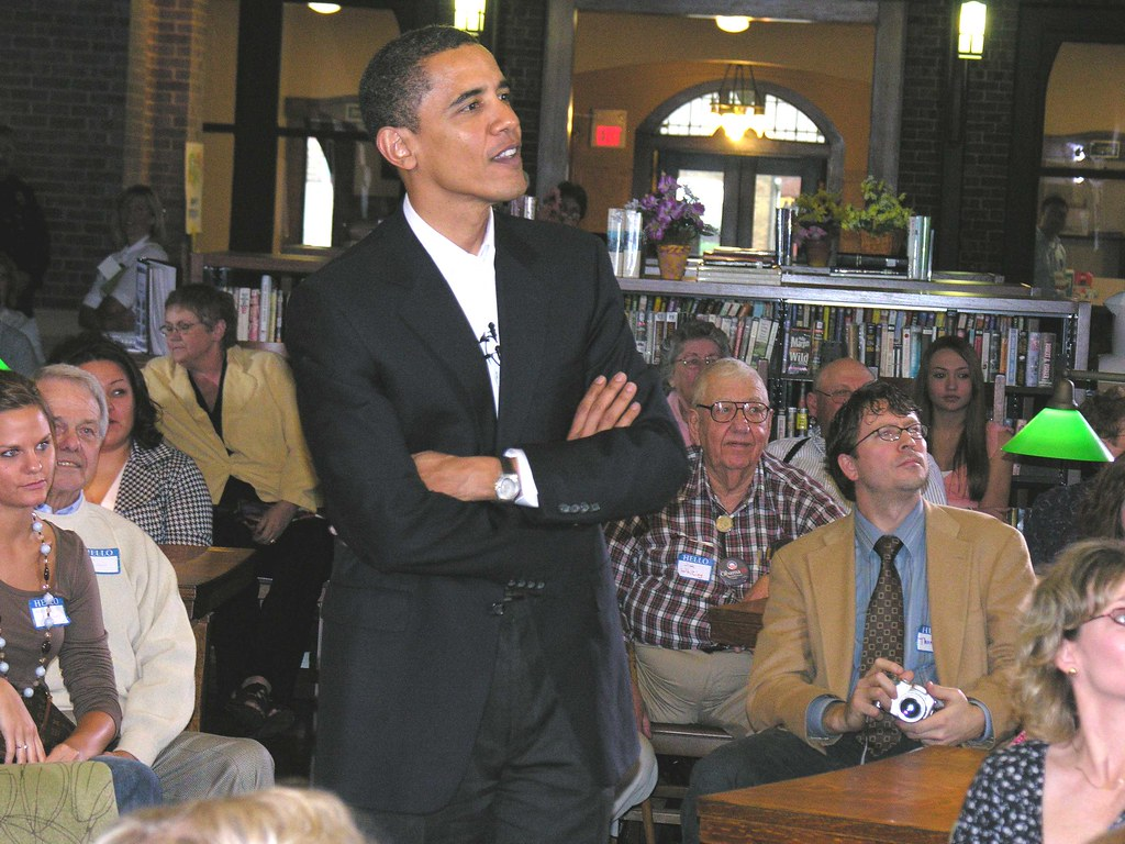 Barack Obama in Onawa