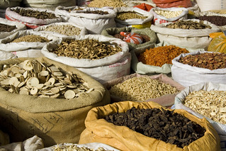Xi'an, China - Traditional Medicine Market | by jminnick