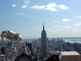 Rockefeller Center - view towards lower Manhattan from the Top of the Rock viewing area | by Al_HikesAZ