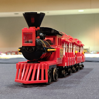 Amusement Park Train (Front) | by Bill Ward's Brickpile