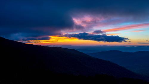 pisgah northcarolina nc transylvania transylvaniacounty sunrise mountains blueridgeparkway