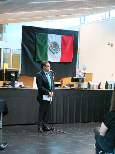 Mexican ambassador speaks