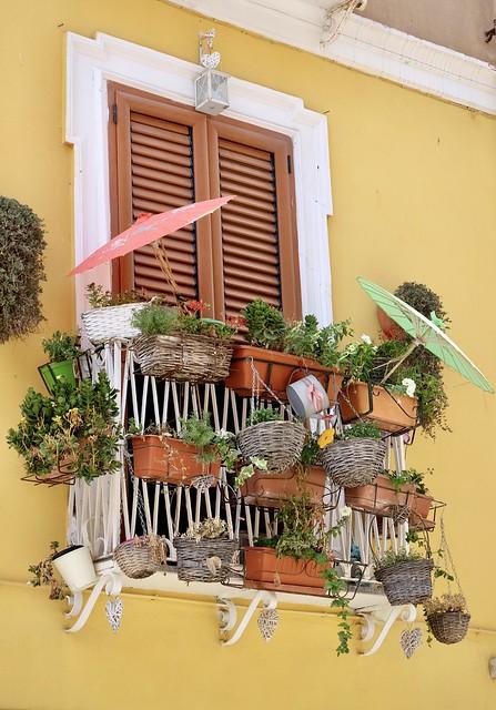 Iglesias, finestra