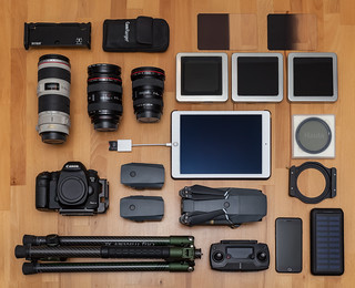 Tools of a landscape photographer